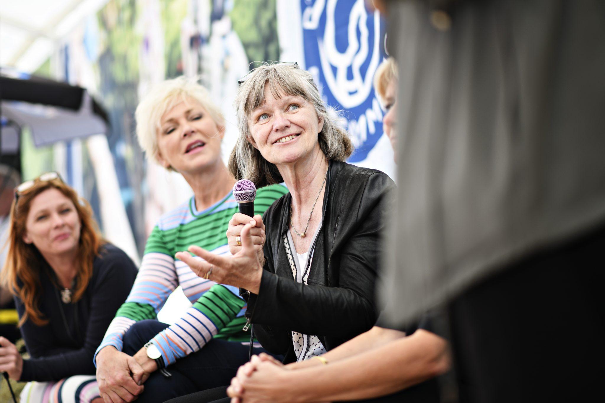 Forenet Kredit på Folkemødet 2018 på Bornholm. Foto: Philip Davali